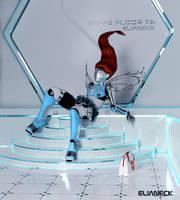 Robot female by elianeck