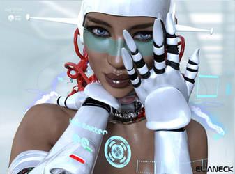 cyber woman.. by elianeck
