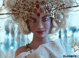 Gold woman... by elianeck