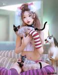 love cats..