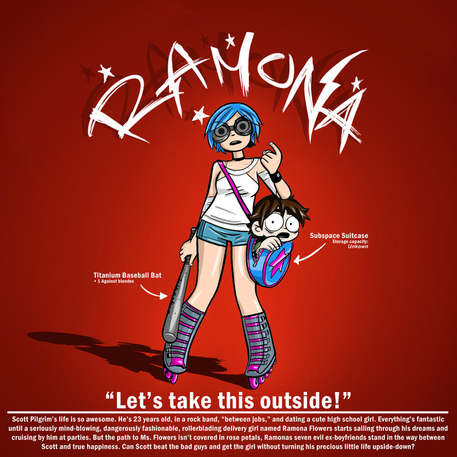 Ramona Flowers by Anicecupofstfu