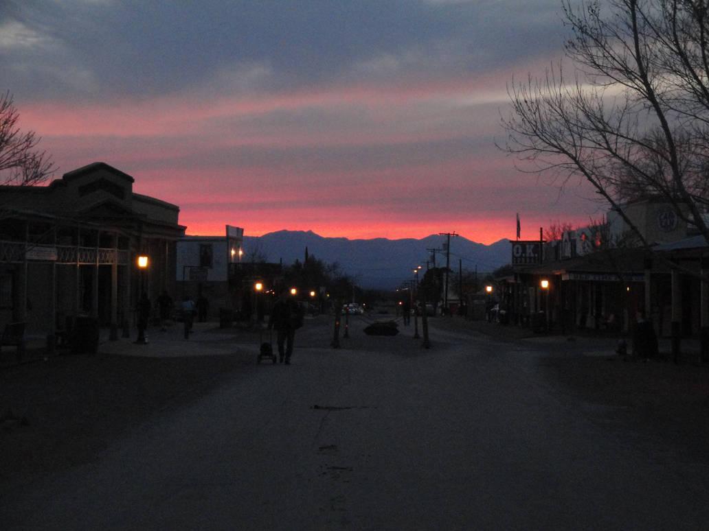 Allen Street Sunset