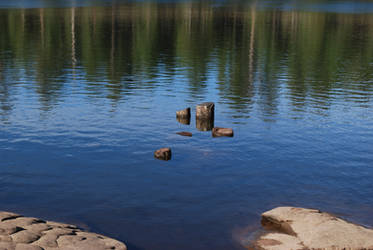 Woods Canyon Lake by kbartram