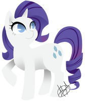 Rarity Clean by AleishaDreams
