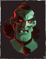 Vampire Sketch by JakkeV