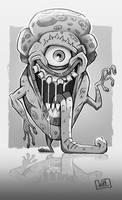 One-Eye Monster by JakkeV