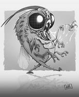 Fly Monster by JakkeV