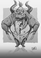 Brute Monster by JakkeV