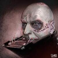 Unmasked Vader by JakkeV