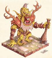 Ogre King by JakkeV