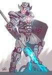 Futuristic Gladiator