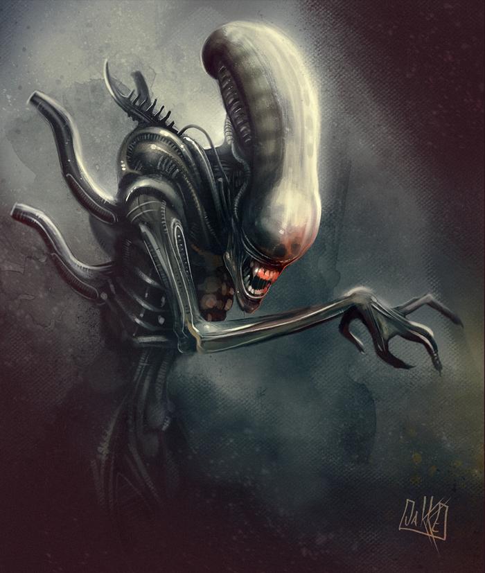 Alien Xenomorph by JakkeV