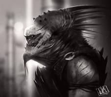 Monster Sketch by JakkeV