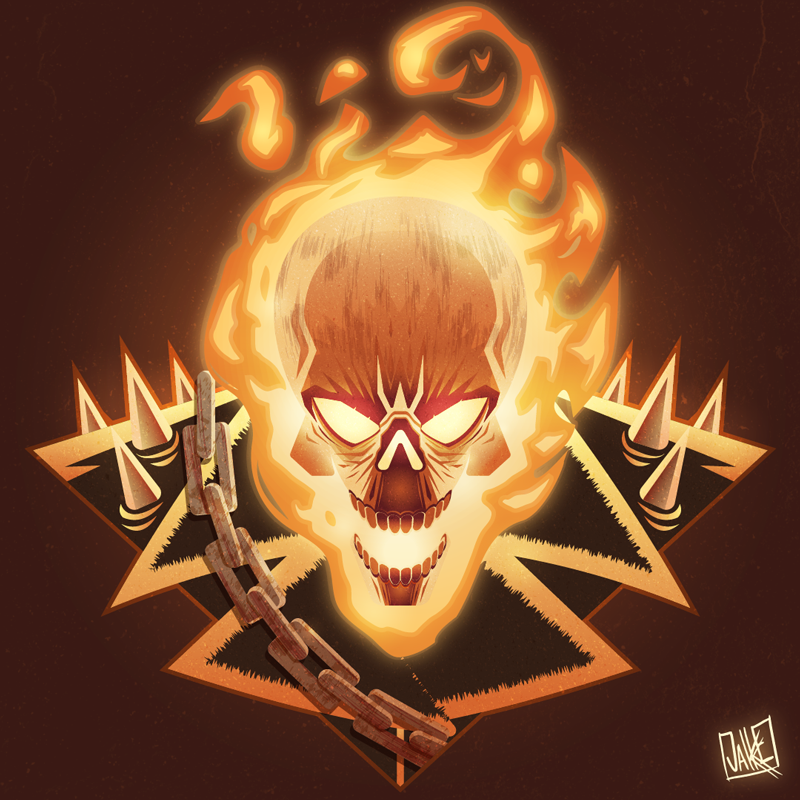 Ghost Rider By Jakkev On Deviantart