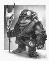 Orc King by JakkeV