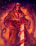 Hellboy fanart 2/2