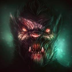Werewolf by JakkeV
