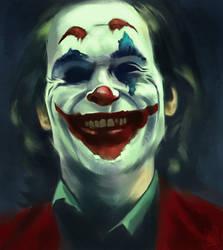 Joaquin Phoenix's 'Joker' by JakkeV