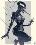 She Venom sketch