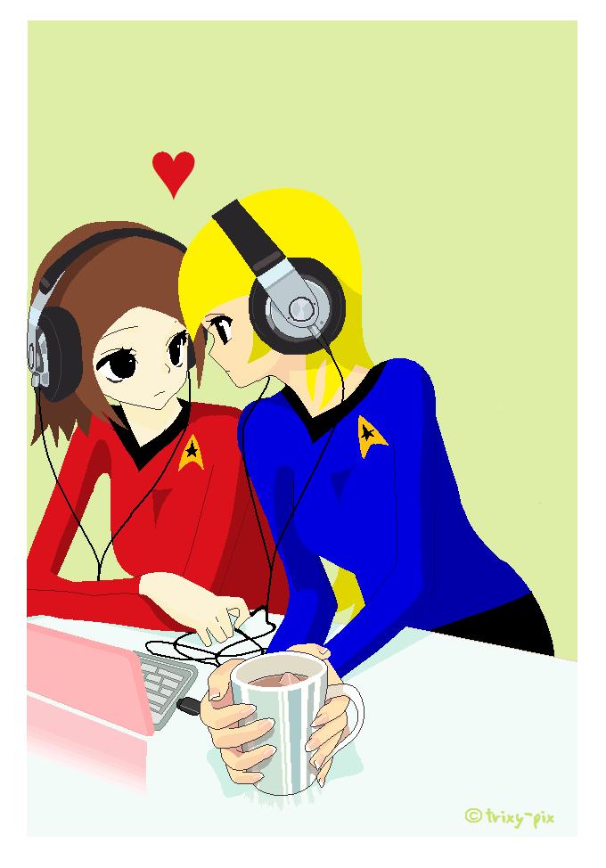 Sister love by YukiDemonKat
