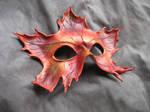 Red Maple Leaf Mask