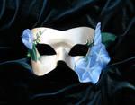 Morning Glory Leather Mask 2