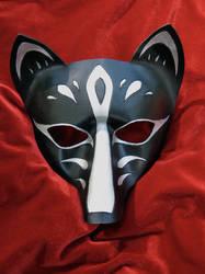 Fox Mask- Kitsune by MummersCat