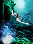 Mermaid in the water