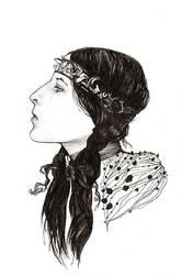 Mi'kmaq Girl by seuilxe