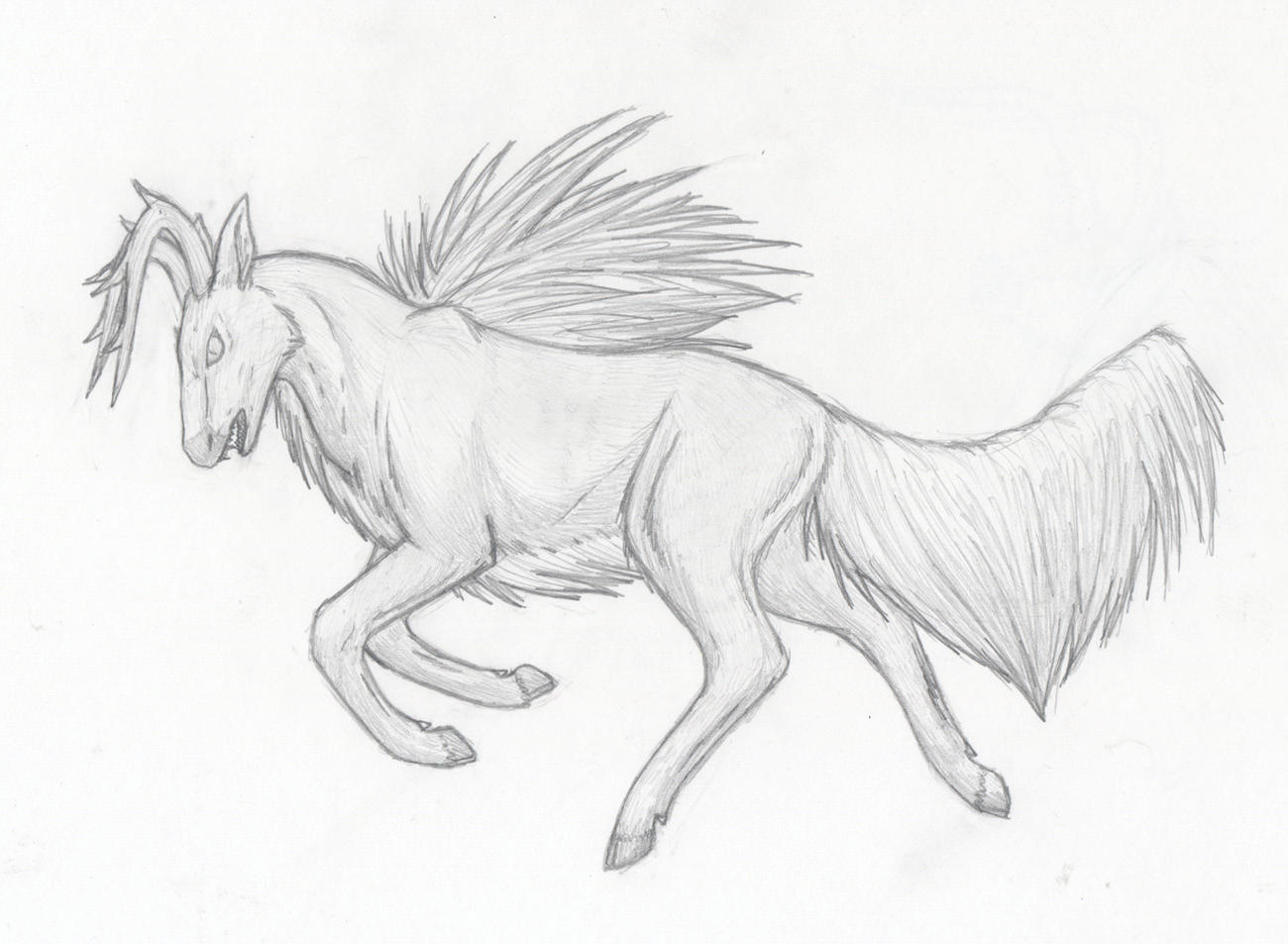 Mr Deer Man by Half-Emo-Squirrel on DeviantArt
