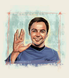 Dr. Sheldon Cooper by ermitanyongpalits