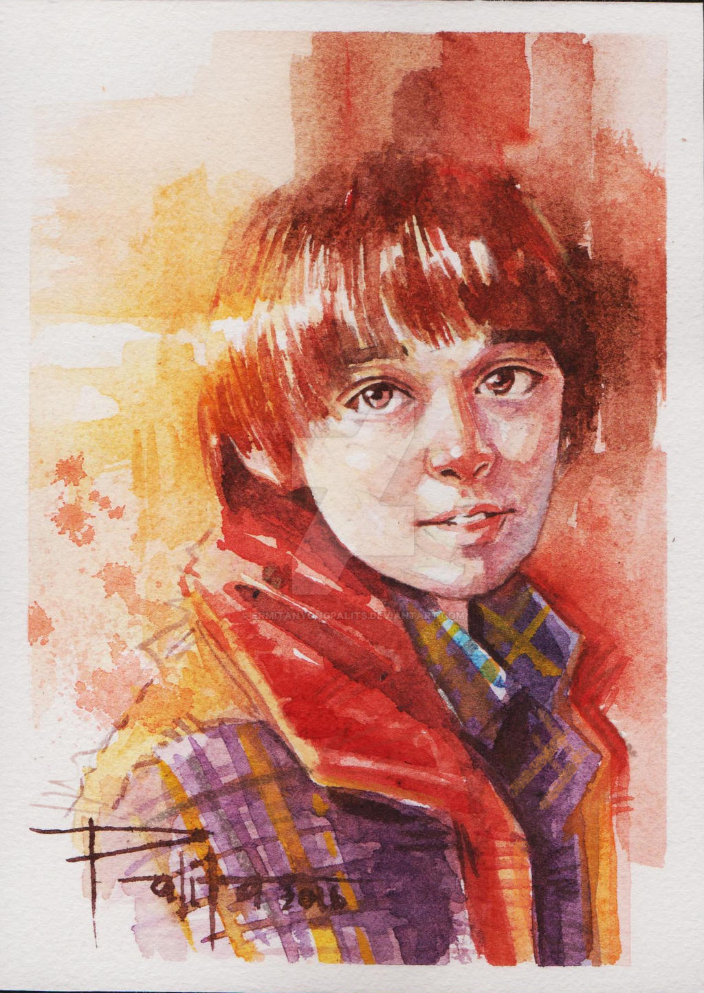 Will Byers By Ermitanyongpalits On Deviantart