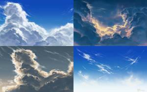 Study: Clouds 01