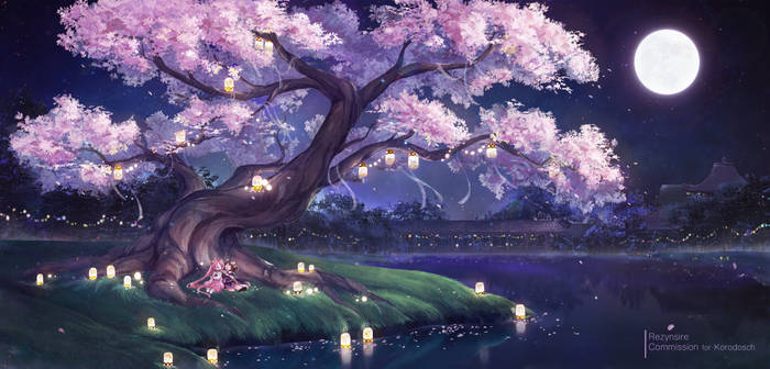 [Commission] Sakura night