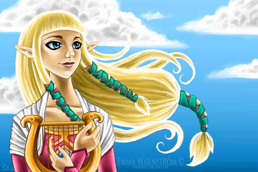 Zelda by Warnstrom