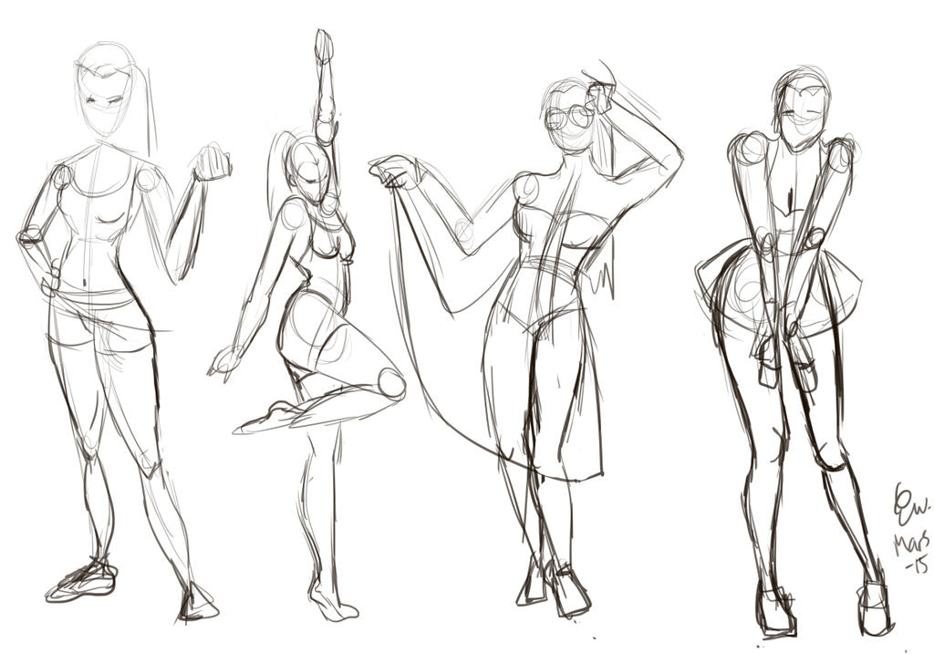 Poses by Warnstrom