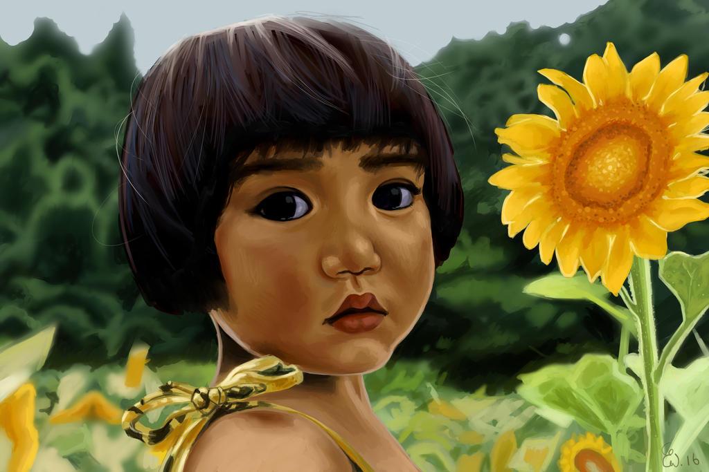 Sunflower by Warnstrom