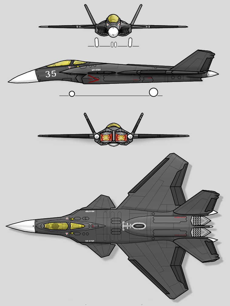 F-33 Raven EV3 by sharp-n-pointy