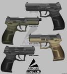 Model 9 Pistol series