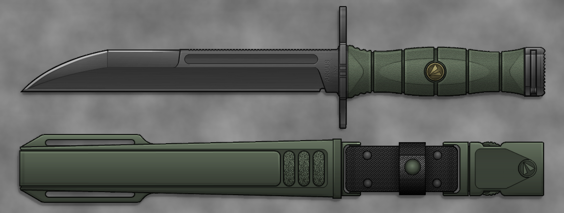 Model 16 Bayonet by sharp-n-pointy