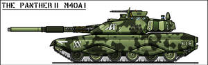 M40A1 Panther II MBT