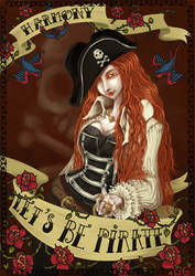 +Lets be Pirate+ by Ivy-Dragonlune