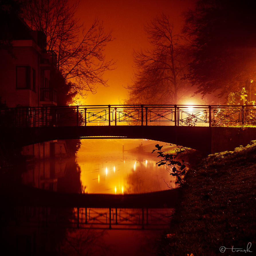 Melancholy Bridge by tvurk