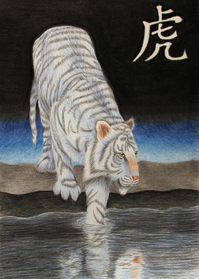 Bai Hu by Arinen