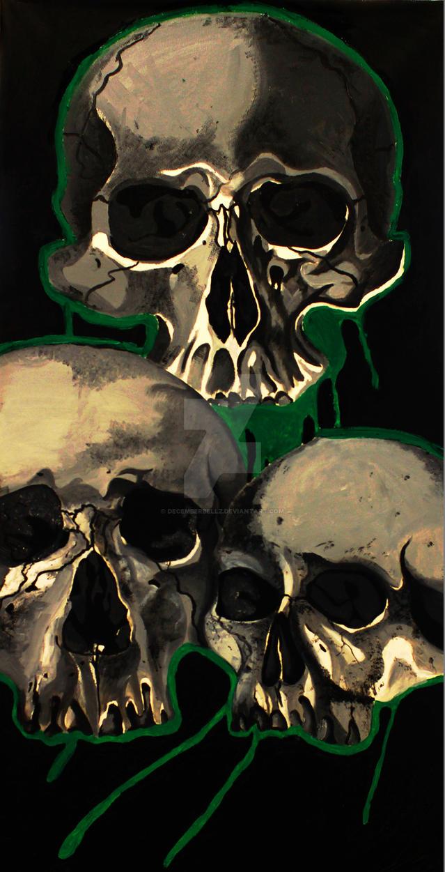 Pyramid of Skulls by DecemberBellz