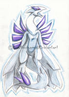 Lugia fan art by AyaAkuisamu