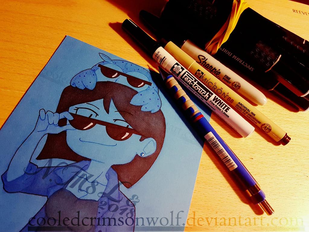Meet The Artist by CooledCrimsonwolf