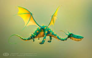 Dragon by gedomenas