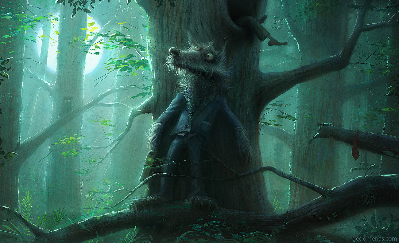 Mr. Wolf by gedomenas
