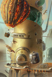 THE REMARKABLE INVENTIONS OF WALTER MORTINSON by gedomenas